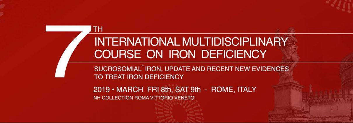 seventh edition of the International Multidisciplinary Course on Iron Deficiency complete program